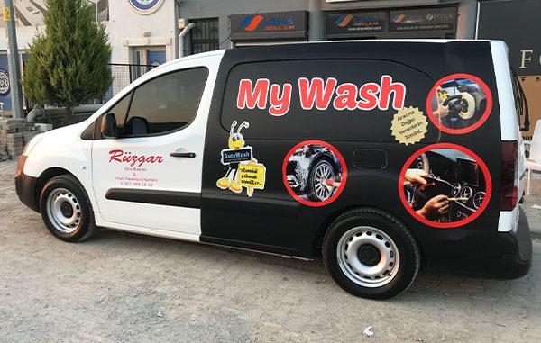 araç kaplama giydirme mugla reklam