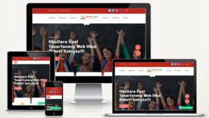 Kreş - Eğitim Kurumu Web Paketi Garten v4.5 hazır php script mugla ajans